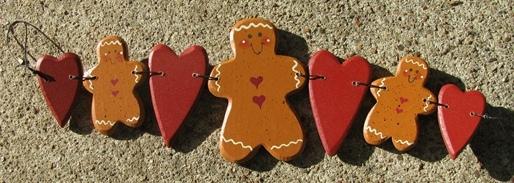 WD294 - Gingerbread Stringer Wood - $2.95