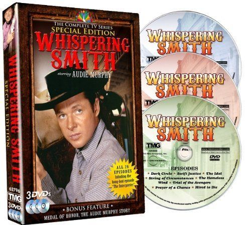 Whispering Smith: The Complete TV Series New (DVD Set) Classic Western