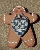 WD296 - Gingerbread Man  - $3.95