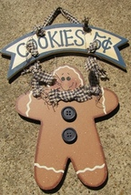 WD326 - Cookies 5 cents Gingerbread - $3.95