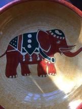 Pier One large handpainted Elephant Fruit Salad... - $15.87