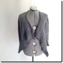Express Alpaca Mohair Blend Gray Cardigan Sweater xs - $21.20