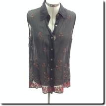 New York & Co Black sleeveless Top M - $19.27