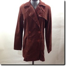 Juicy Couture Brown Corduroy Coats Jacket Outerwear L - $28.85