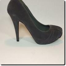 Qupid Gray Platform Heels 10 - $19.27