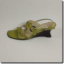 Anne Klein Green Sling Back Wedge Heels - $24.10