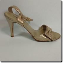 Gianni Bini Gold Bow Front Heel - $19.27