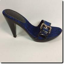Closeout - BCBG Girl Purple Signature Slip On Heels - $19.27