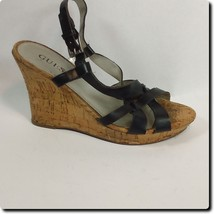Guess Black strap wedge - $28.94