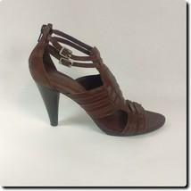 Gianni Bini Brown Double Strap Heels - $28.94