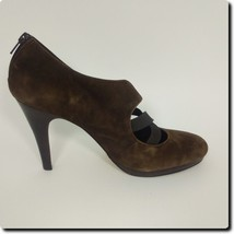 Franco Sarto Brown Network Suede Pumps - $33.78