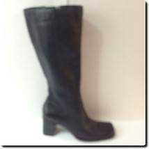 Nine West Black Abound Leather Boot - $43.45