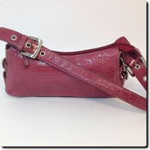 Nine West Pink Alligator Textured Bag - $19.27