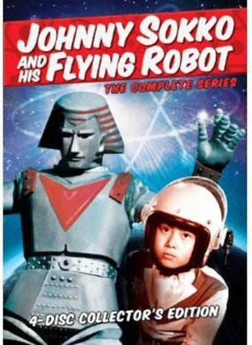 Johnny Sokko and His Flying Robot: The Complete Series (DVD Set) New Classic TV