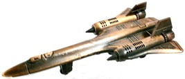 SR-71 Blackbird Die Cast Metal Collectible Pencil Sharpener - $6.75