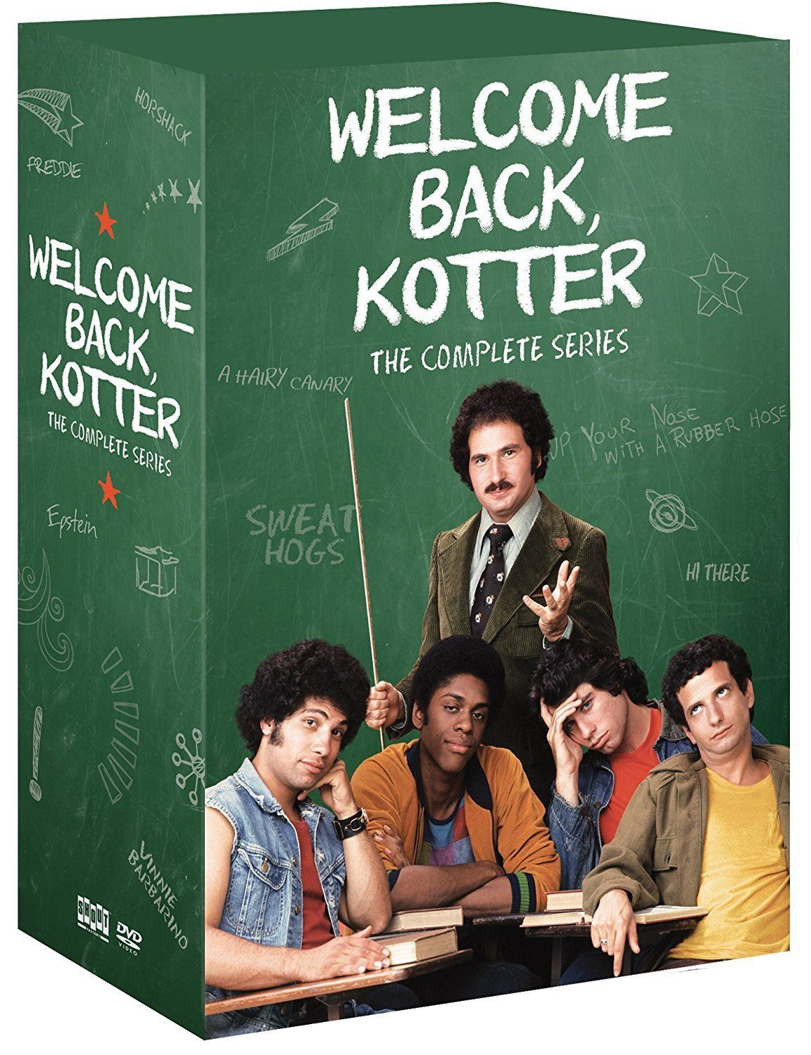 Welcome Back Kotter - The Complete Series (DVD Set) New Classic TV Comedy