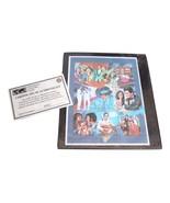 Vintage ELVIS PRESLEY - American Music Legend Stamps VHF COA Collectors - $149.99