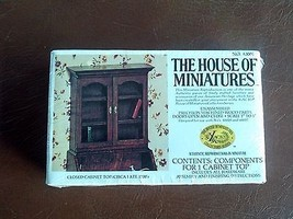 The House of Miniatures furniture kits - Closed Cabinet TOP LATE 1700'S   - $10.15