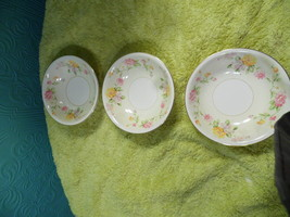 Homer Laughlin Egg Shell Nautilus  Set of 3 Berry Ice Cream Bowls  G 40 ... - $8.90