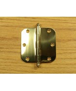 "Solid Brass with Ball tip pin 3 1/2"" Door Hinge 5/8 rad - $11.50"