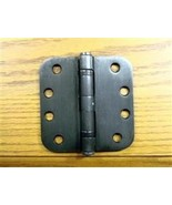 "Oil Rubbed Bronze 4"" 5/8"" Commercial Ball Bearing Hinge - $6.39"