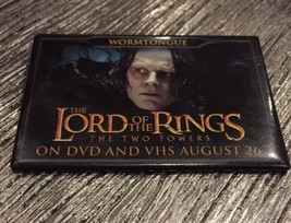 "THE LORD OF THE RINGS THE TWO TOWERS ""WORMTONGUE"" Promo On DVD & VHS MMI... - $7.92"
