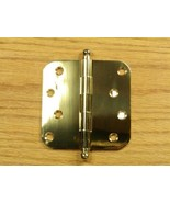 "Solid Brass with Ball tip pin 4"" Door Hinge 5/8 rad - $12.50"