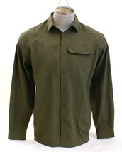 Under Armour Green UA Tac Hunter Long Sleeve Button Front Shirt Men's NWT - $56.24