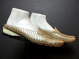Women's Donald J. Pliner Embossed Leather Faux-Snake Mule/Slide Flat Sz.... - $53.96