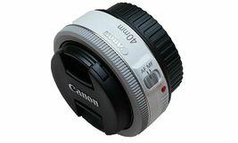 Canon EF 40mm F/2.8 STM Pancake Lens, White, Bulk Package image 4