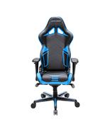 DXRacer OH/RV131/NB High-Back Gaming Chair Carbon Look Vinyl+PU(Black/Blue) - $359.00
