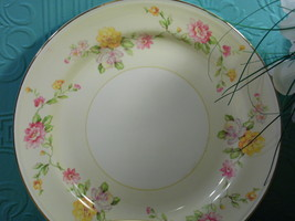 "Vintage Homer Laughlin  10"" Dinner Plate Dish  Egg Shell Nautilus   G 40... - $7.91"