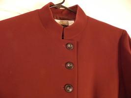 Tahari Arthur S. Levine 14P Skirt Suit Blazer, Jacket , Burgundy Plum - $79.18