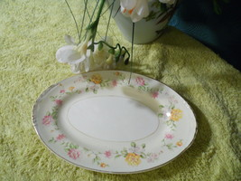 Homer Laughlin Egg Shell Nautilus Dish Plate Oval Platter  G 40 N 5 - $8.90