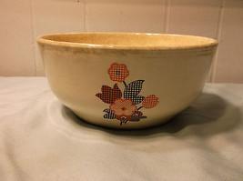 Vintage Antique Household Institute Homer Laughlin Bowl Orange Black - $39.59