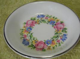 Vintage Hotoven Harker Bakerite Needlepoint Flower  Pie Pan Bakeware - ₨1,366.38 INR