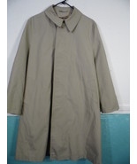 Vintage Outwear Sears Size 40 Short Beige Tan Trench Pea Coat  Men's - $52.46