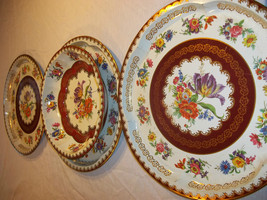 Daher Decorated Ware 4 Peice Serving Set 3 Plat... - $34.65