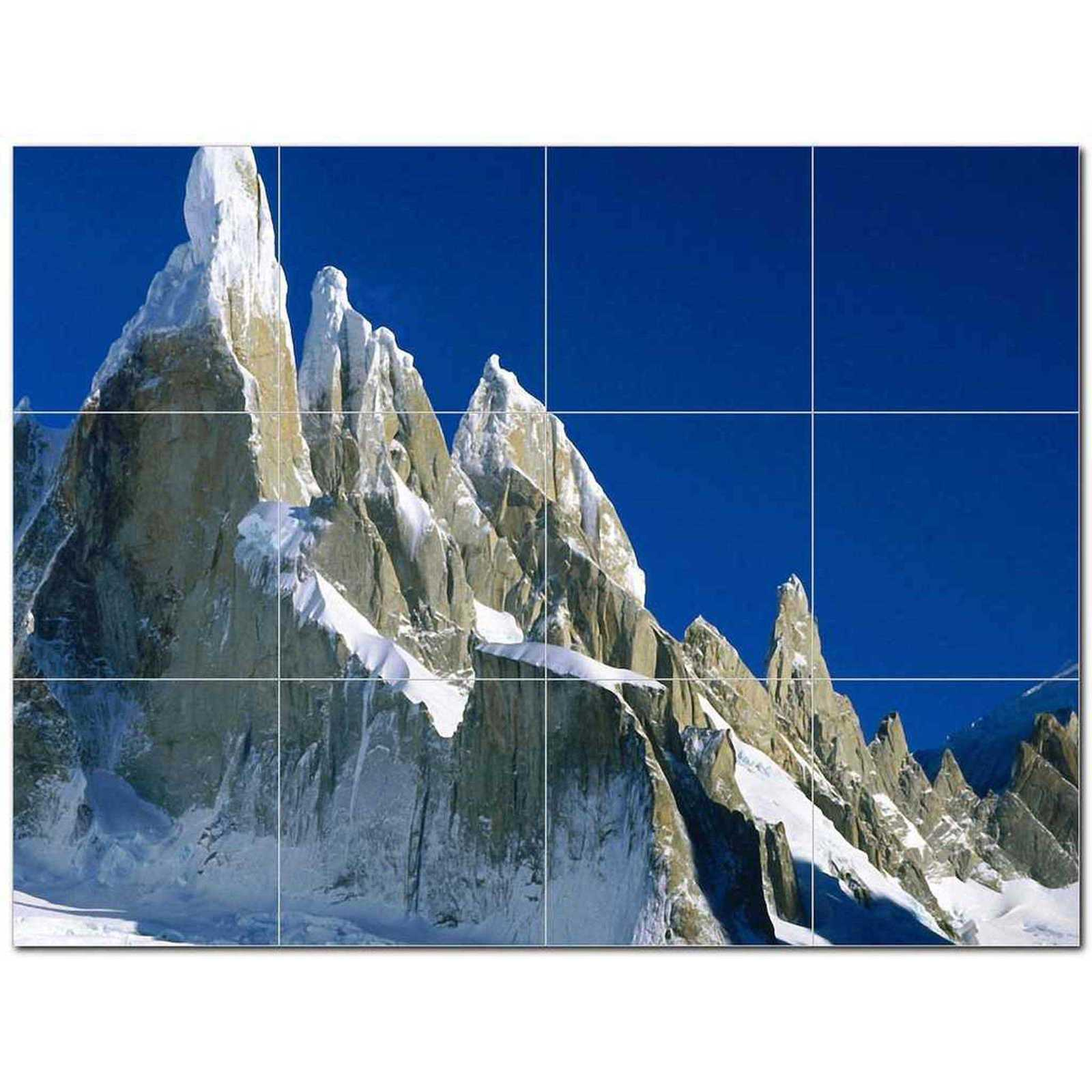 Primary image for Mountain Scene Ceramic Tile Mural Kitchen Backsplash Bathroom Shower BAZ405633