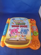 VTech Touch & Teach Word Book  - $15.00