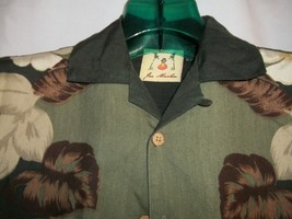 Men's Size S Joe Marlin Hibiscus Floral Hawaiian Short Sleeve Shirt - $16.82