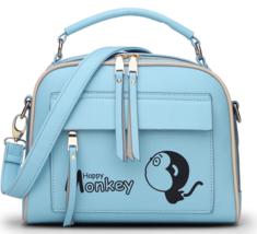 Fashion New Leather Shoulder Bags Messenger Bags Medium Backpacks M328-4 - $39.66