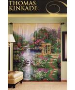 Thomas Kinkade Art The Garden of Prayer Window Panel Curtain Mural Home ... - $79.99