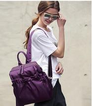 4 Color Women Nylon Backpacks Fashion Medium Students Bookbags Backpacks... - $39.99