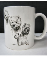 Westie West Highland Terrier Cup Mug Container Coffee Tea Dog Show Puppy - $22.95