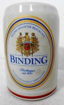 King Binding German Beer Stein .5 Liters Stoneware - $34.30