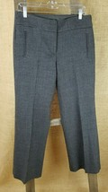 J. Crew women's 100% wool pants career chevron print favorite fit size 6 - $39.55