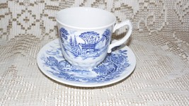 "WEDGWOOD & CO. ENGLAND LTD. ""COUNTRYSIDE"" TEA CUP AND SAUCER SET - $9.89"
