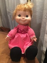 "1980s Fisher Price 12"" Soft Lapsitter Doll Nata... - $7.91"