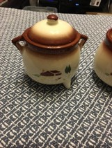 Brock of California KETTLE CREAM & SUGAR SET Fa... - $11.87